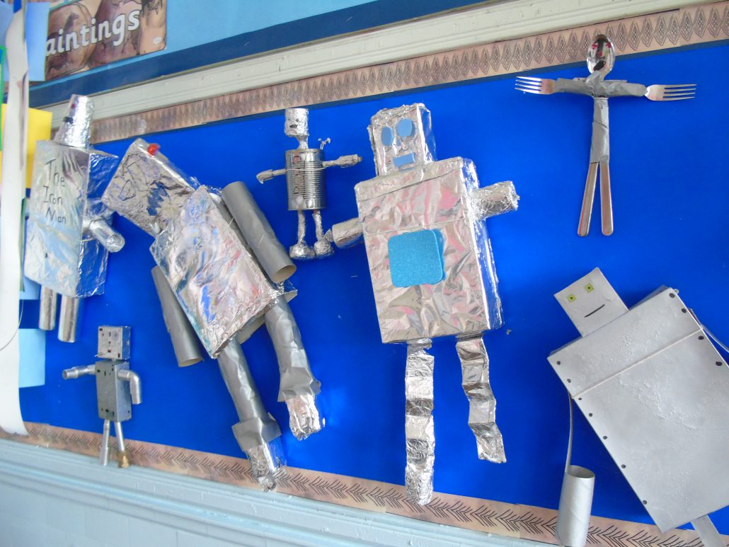 Year 3 S Iron Man Project Helmshore Primary School